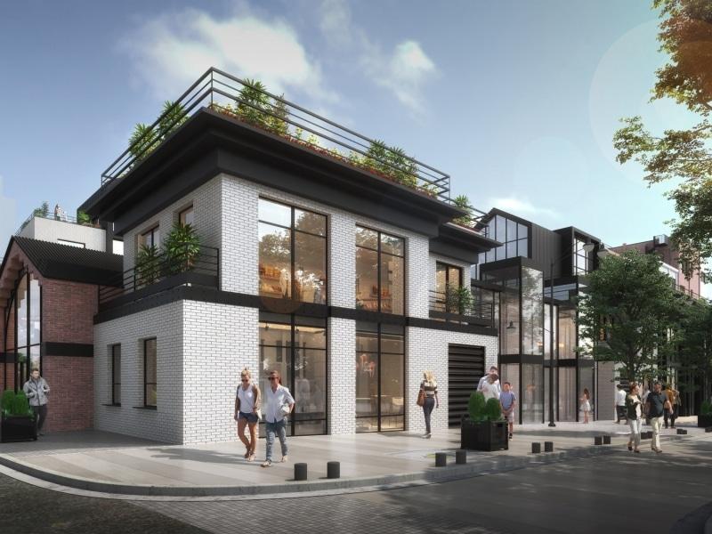 perspective 3d saint ouen 2019 rue des rosiers rue